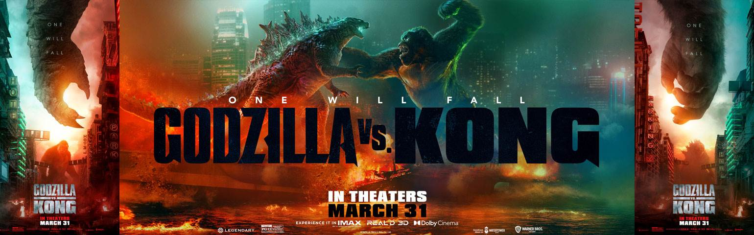 GODZILLA VS. KONG - NOW PLAYING image